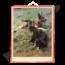 Zoölogische schoolplaat 'Duitse herdershond'