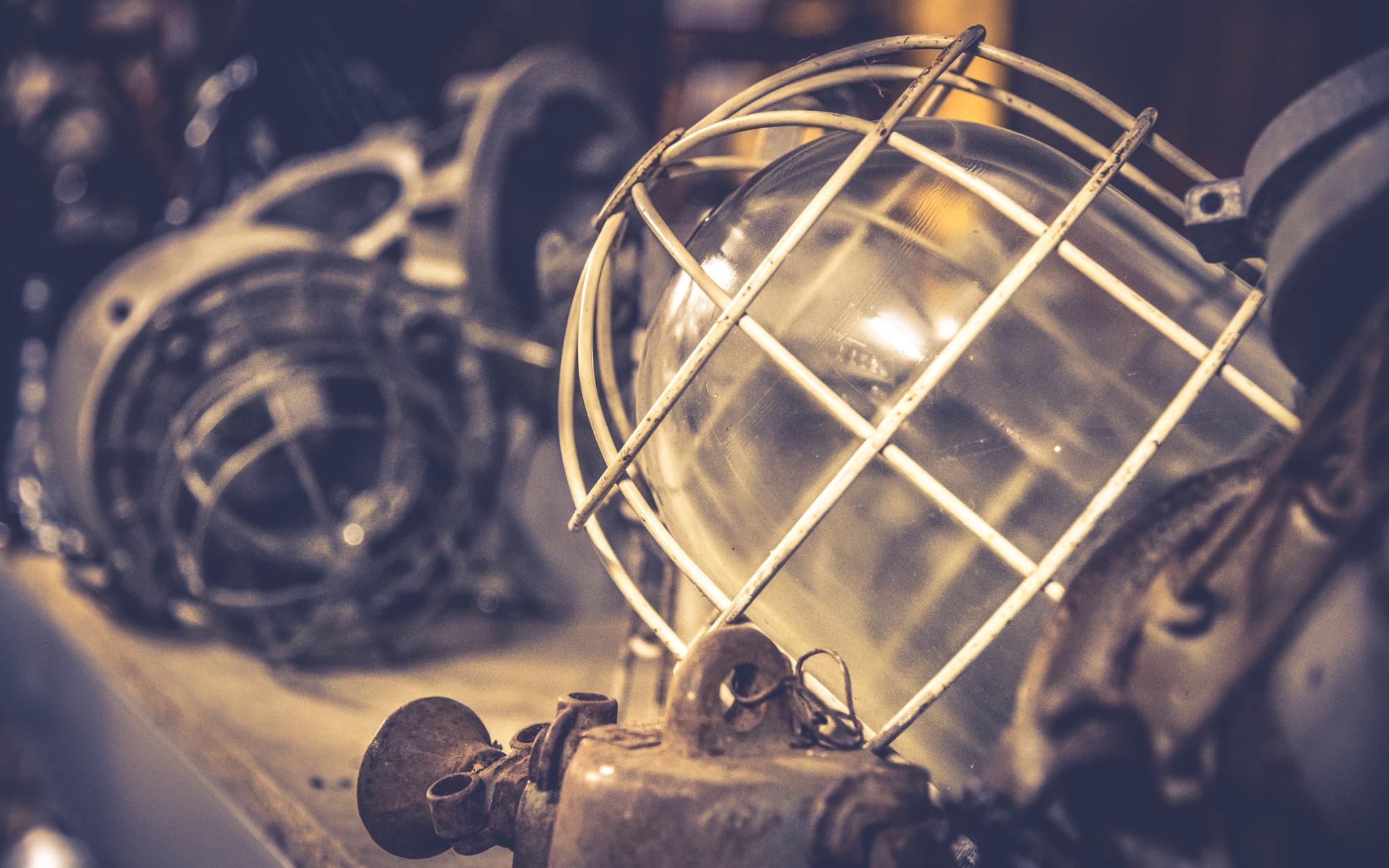 Industriële lampen ombouwen
