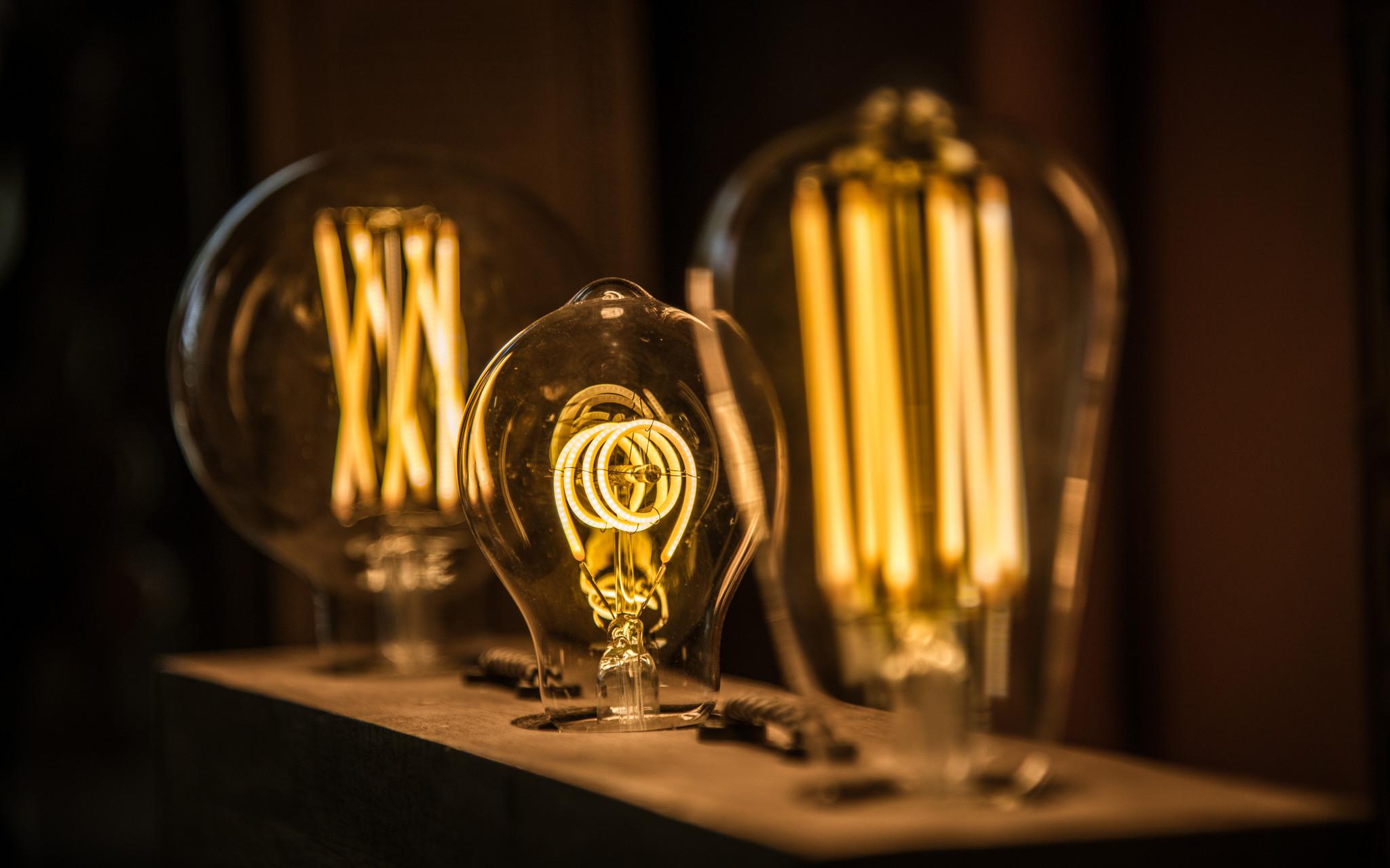 Trendy led-lichtbronnen ledlampen