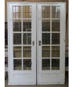 214 x 73 cm - Set paneel deuren No. 133/134