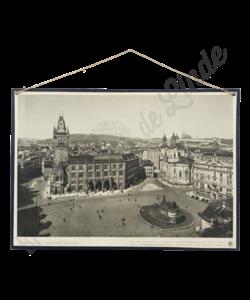 Schoolplaat landschap (Praag)