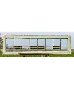 40,5 x 144,5 cm - Glas in lood raam No. 202