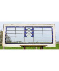 65 x 150,5 cm - Glas in lood raam No. 203