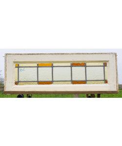 28,5 x 80,5 cm - Glas in lood raam No. 186