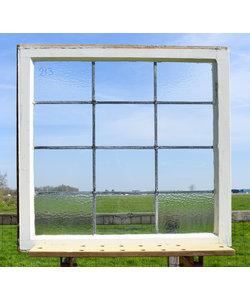 80,5 x 78,5 cm - Glas in lood raam No. 213