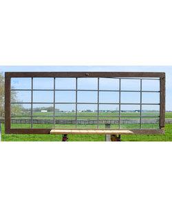 55,5 x 147 cm - Glas in lood raam No. 214