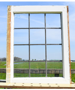 72 x 56 cm - Glas in lood raam No. 215