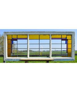 65 x 160 cm - Glas in lood raam No. 223