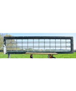 41 x 167,5 cm - Glas in lood raam No. 229