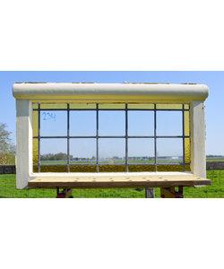 45 x 82,5 cm - Glas in lood raam No. 234