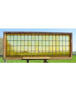 75,5 x 190 cm - Glas in lood raam No. 237