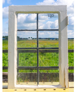 67 x 45,5 cm - Glas in lood raam No. 275