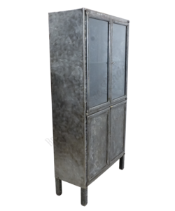 Apothekerskast 'Admir' Brushed Steel