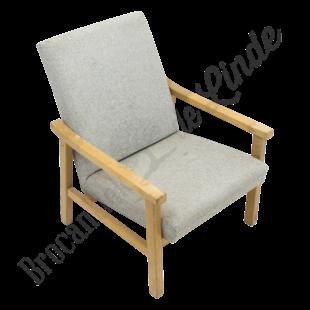 Vintage fauteuil - Grijs