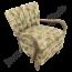 Vintage fauteuil 'Bloemen'