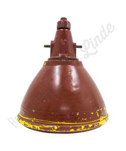 Industriële hanglamp 'Red & Yellow'