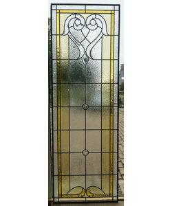 181,5 x 61,5 cm - Glas in lood raam Indonesië No. 4