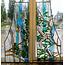 326 x 66,5 cm - Glas in lood raam Indonesië No. 56