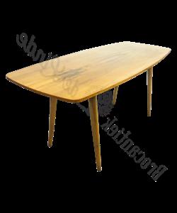 Retro wooden salontafel