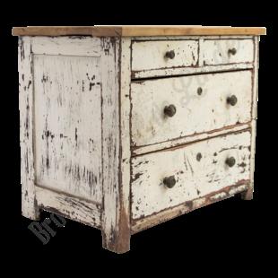 Oud brocant dressoir