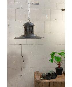 Vintage hanglamp 'UFO black'
