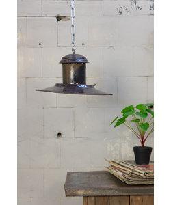 Vintage hanglamp 'UFO purple'