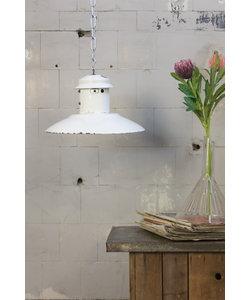 Vintage hanglamp 'UFO white'