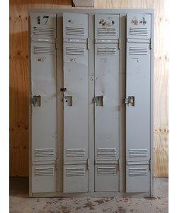 Vierdeurs lockerkast 'Numbers'