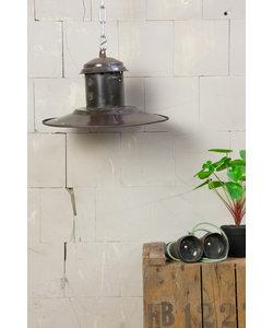 Vintage hanglamp 'UFO brown'