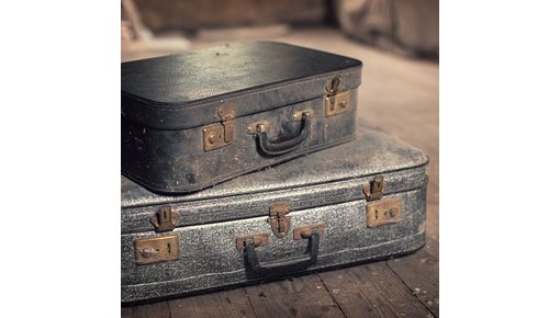 Oude koffers en vintage hutkoffers
