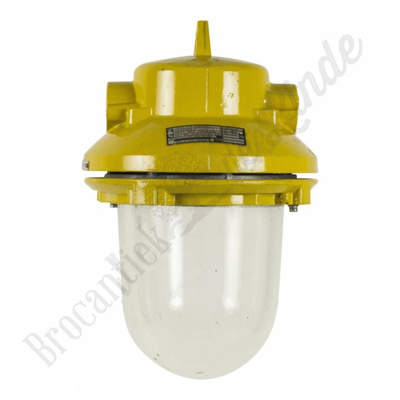 """Industriële lampen """"Yellow Liboc"""" - explosievrij"""