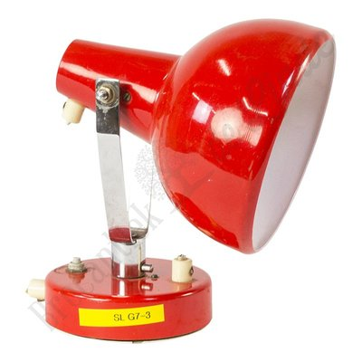 "Retro bureaulamp ""red beatle"""