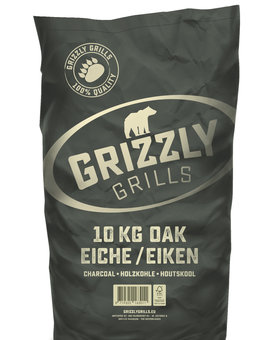 Grizzly Grills Grizzly Grills houtskool eiken