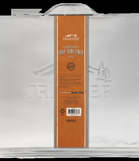 Traeger Aluminium Lekbak 5 Stuks - Timberline 850