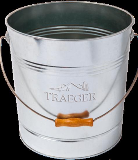 Traeger Grills Traeger 20Lb Pellet Metal Storage Bucket