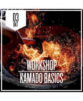 Kamado Basics zaterdag 3 oktober 2020