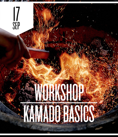 Kamado Basics donderdag 17 september 2020