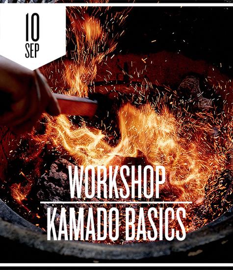 Kamado Basics donderdag 10 september 2020