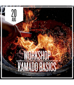 Kamado Basics donderdag 20 augustus 2020