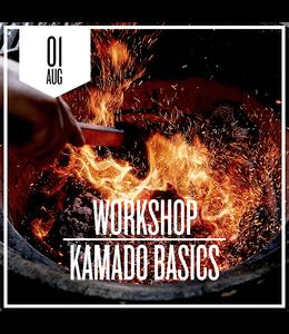Kamado Basics zaterdag 1 augustus 2020