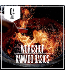 Kamado basics  zaterdag 4 juli 2020