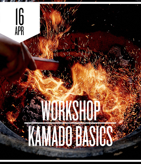 Kamado Basics donderdag 16 april 2020