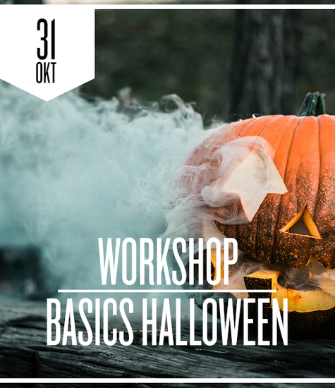Kamado Basics Halloween zaterdag 31 oktober 2020