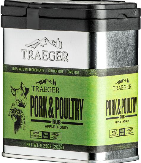 Traeger Traeger Pork & Poultry Rub 262g