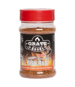 Grate Goods Spicy Chipotle BBQ Rub strooibus 180 gram