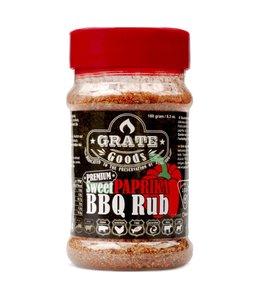 Grate Goods Sweet Paprika BBQ rub 180 gram