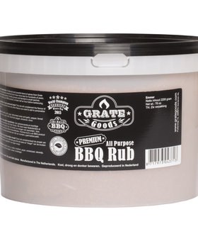 Grate Goods All Purpose BBQ Rub emmer 2,2 kilo