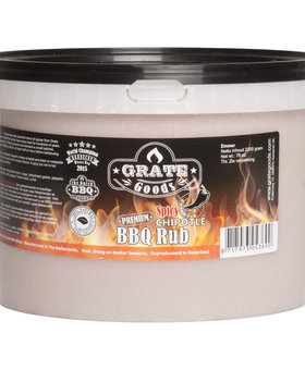 Grate Goods Spicy Chipotle BBQ Rub Emmer 2,2 kilo