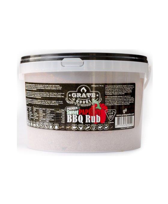 Grate Goods Sweet Paprika Rub Emmer 2,2 kilo