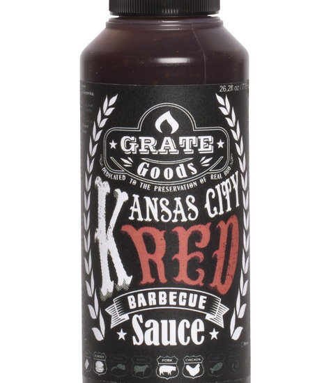 Grate Goods Kansas City Red Barbecue Sauce Small 265 ml